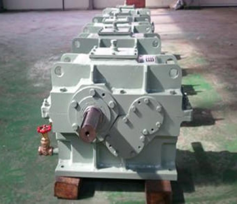 HELICAL GEAR REDUCER 600L x 300B x 350H