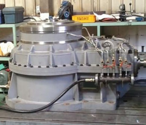 BEVEL + HELICAL GEAR REDUCER 2500L x 1800B x 1500H